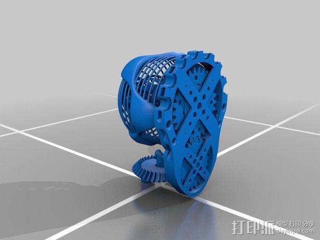 DeskOrbe装饰物 3D模型  图2