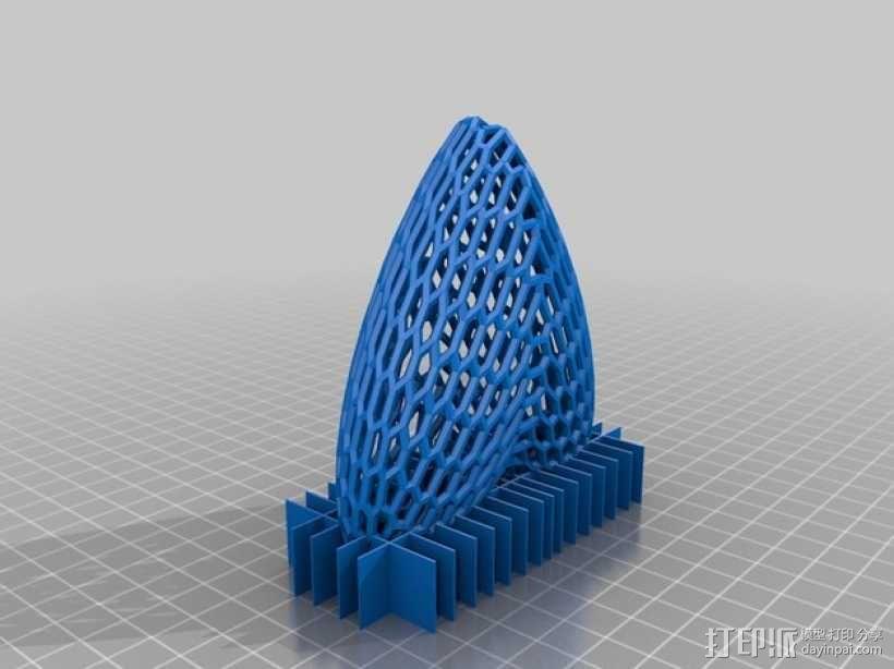 泰森多边形球体 心形体  立方体 3D模型  图7