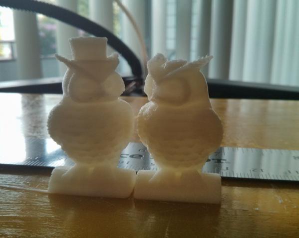 猫头鹰情侣 模型 3D模型  图3