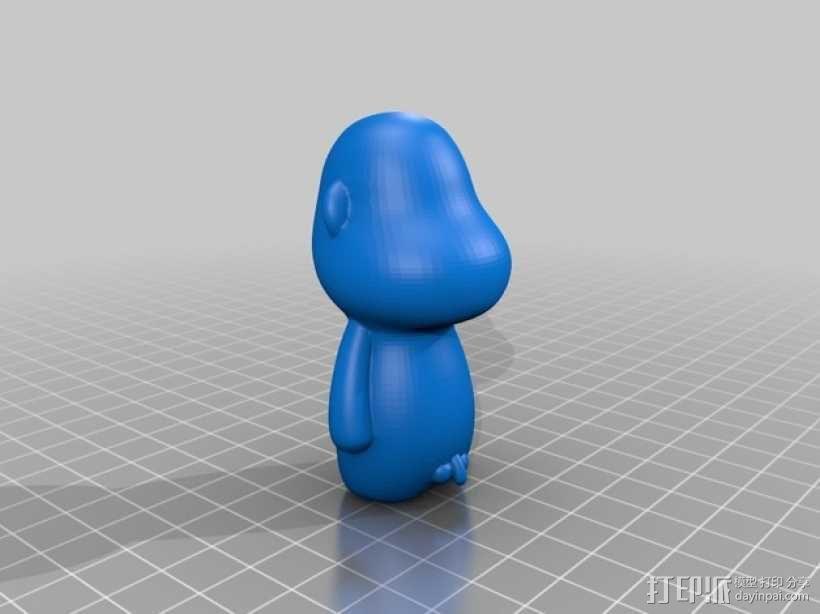 蜡笔小新 3D模型  图5