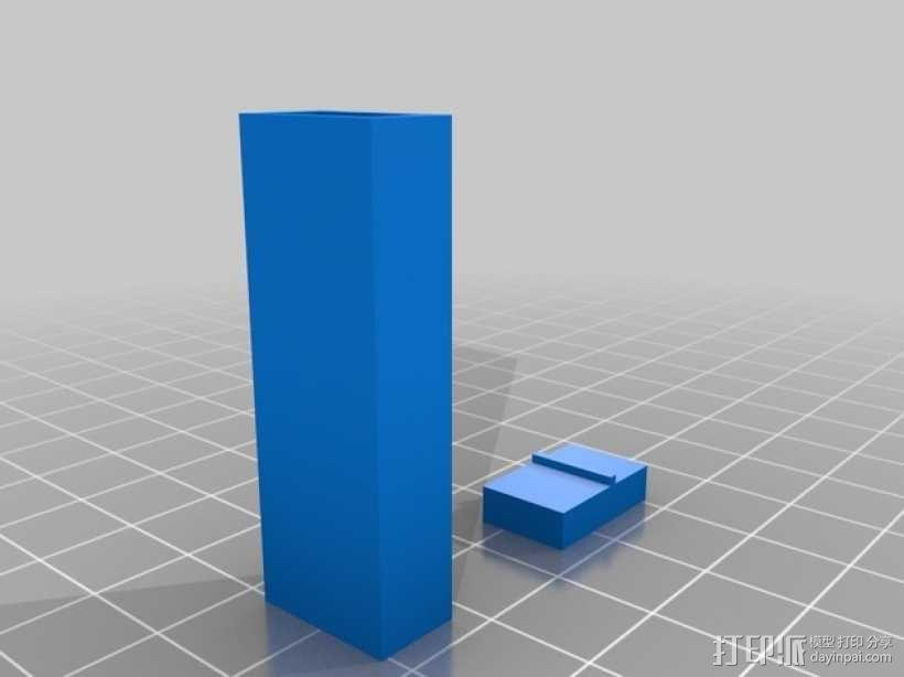 雕刻刀片 刀把和刀鞘 3D模型  图3