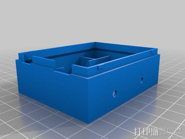 硬件盒子 3D模型  图2