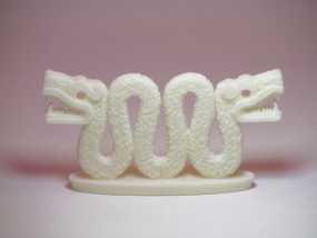 双头蛇 3D模型