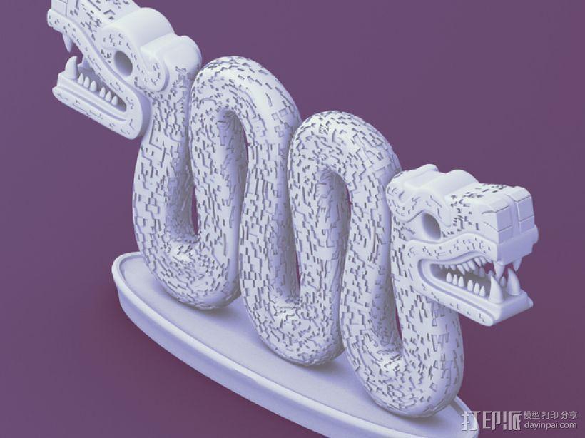 双头蛇 3D模型  图5