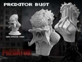 怪物半身头像 3D模型