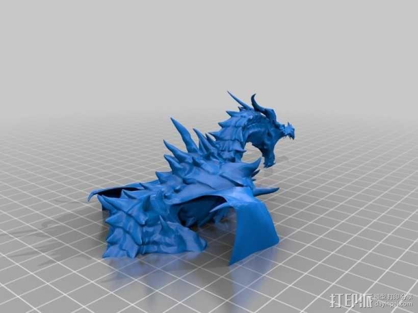 Alduin龙 模型 3D模型  图4