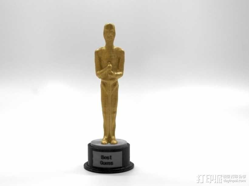 电影奖杯 模型 3D模型  图1