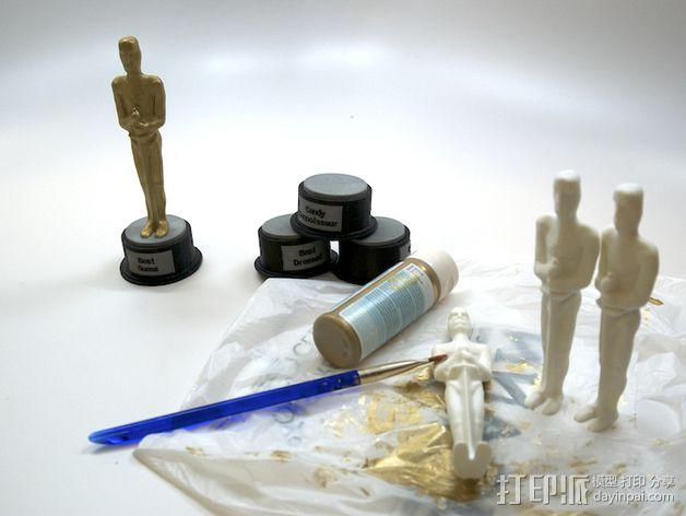 电影奖杯 模型 3D模型  图4
