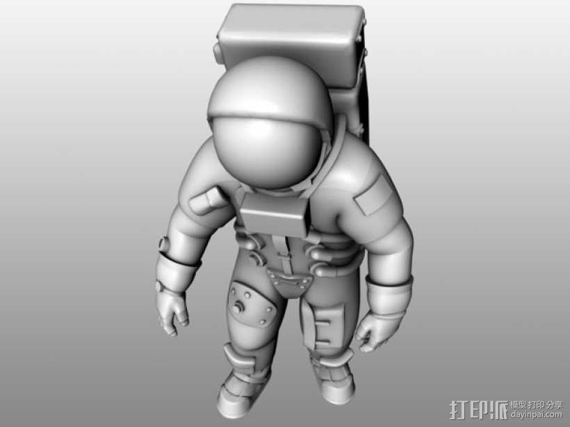 阿波罗号宇航员 模型 3D模型  图2