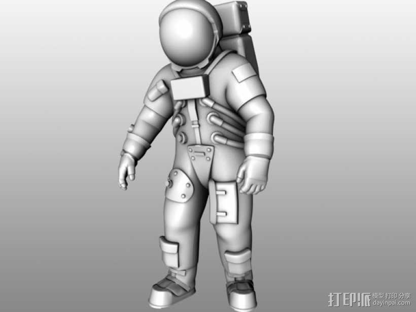 阿波罗号宇航员 模型 3D模型  图5