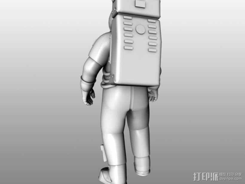 阿波罗号宇航员 模型 3D模型  图6