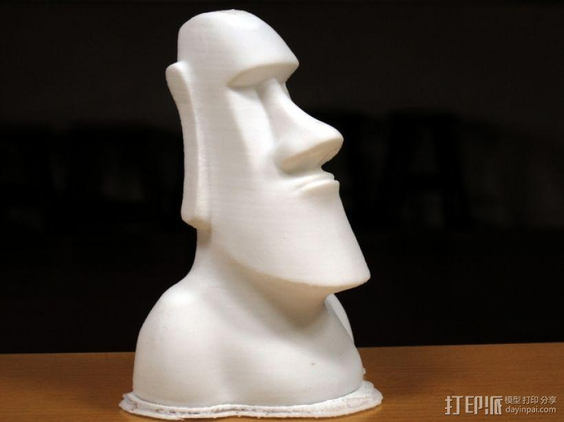 Moai摩埃石像 模型 3D模型  图1