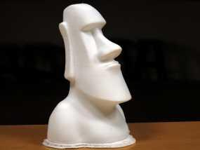 Moai摩埃石像 模型 3D模型