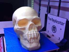 带着尖牙的骷髅 3D模型