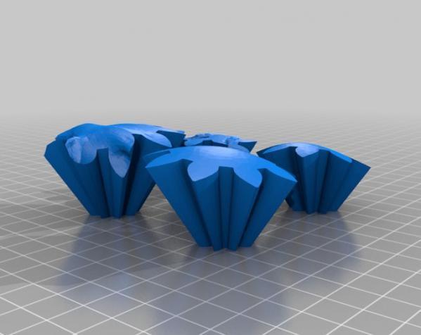 旋转齿轮 头骨模型 3D模型  图3