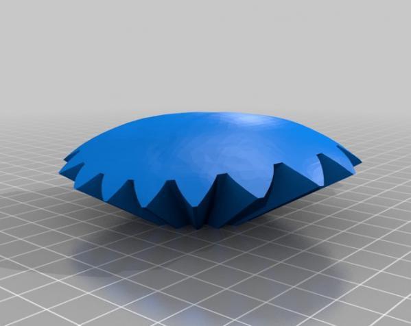 旋转齿轮 头骨模型 3D模型  图5