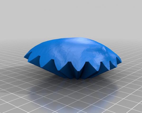 旋转齿轮 头骨模型 3D模型  图6