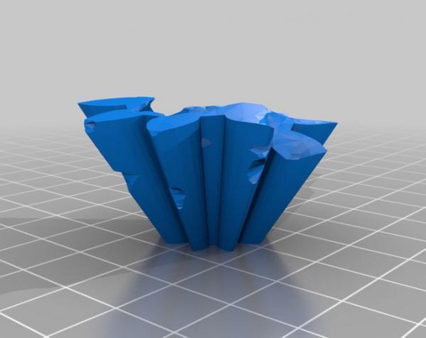 旋转齿轮 头骨模型 3D模型  图9