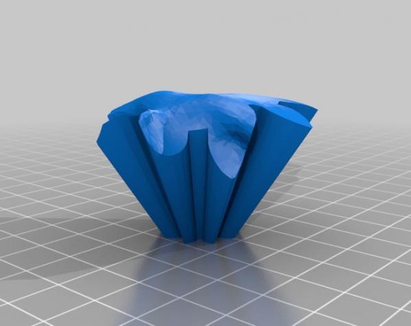 旋转齿轮 头骨模型 3D模型  图10
