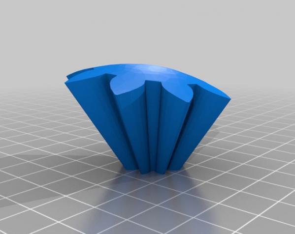 旋转齿轮 头骨模型 3D模型  图11