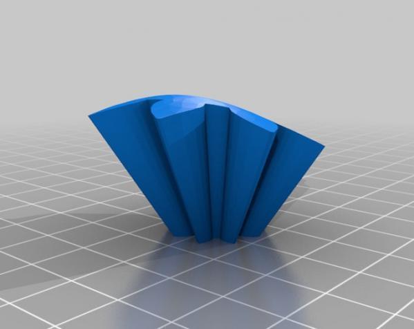 旋转齿轮 头骨模型 3D模型  图12