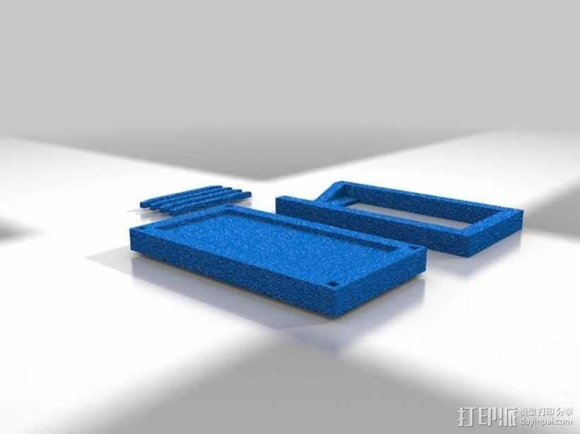 iPhone 5/S/C + iPod Touch全息室 3D模型  图3