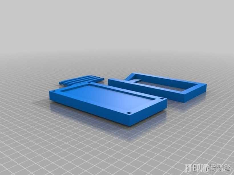 iPhone 5/S/C + iPod Touch全息室 3D模型  图2