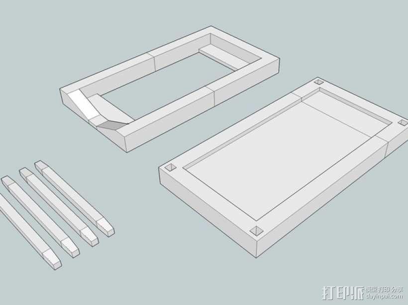 iPhone 5/S/C + iPod Touch全息室 3D模型  图1