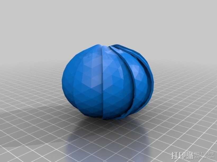 球潮虫 模型 3D模型  图1