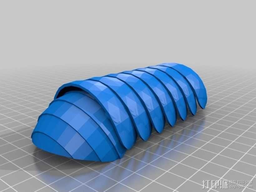 球潮虫 模型 3D模型  图2