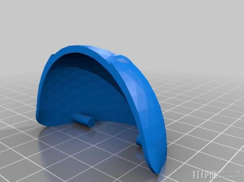 球潮虫 模型 3D模型  图5