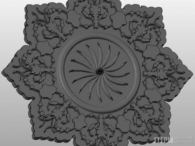 雕刻物 3D模型  图1