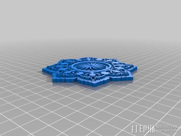 雕刻物 3D模型  图3