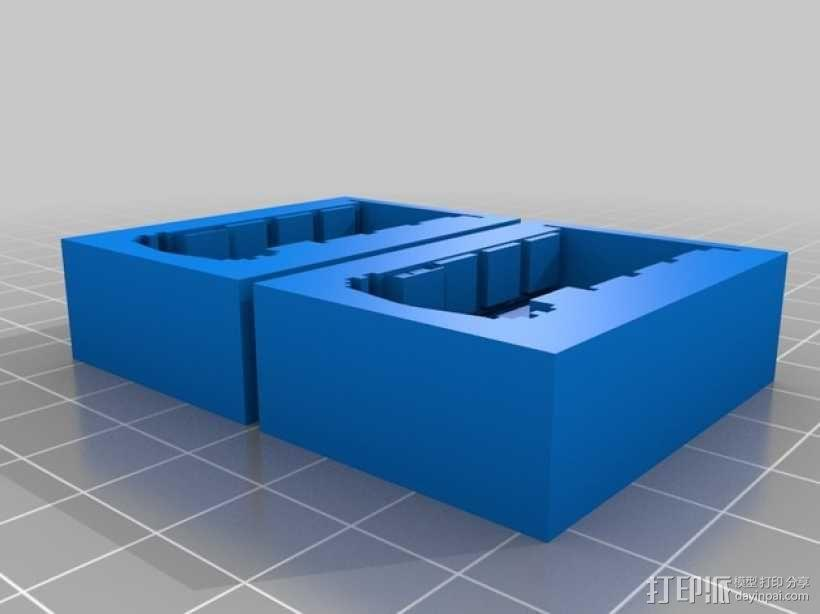 Dr. Who 中的Tardis飞船模型 3D模型  图1