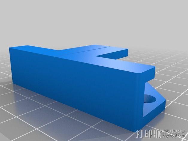 乙烯基封面固定夹 3D模型  图3