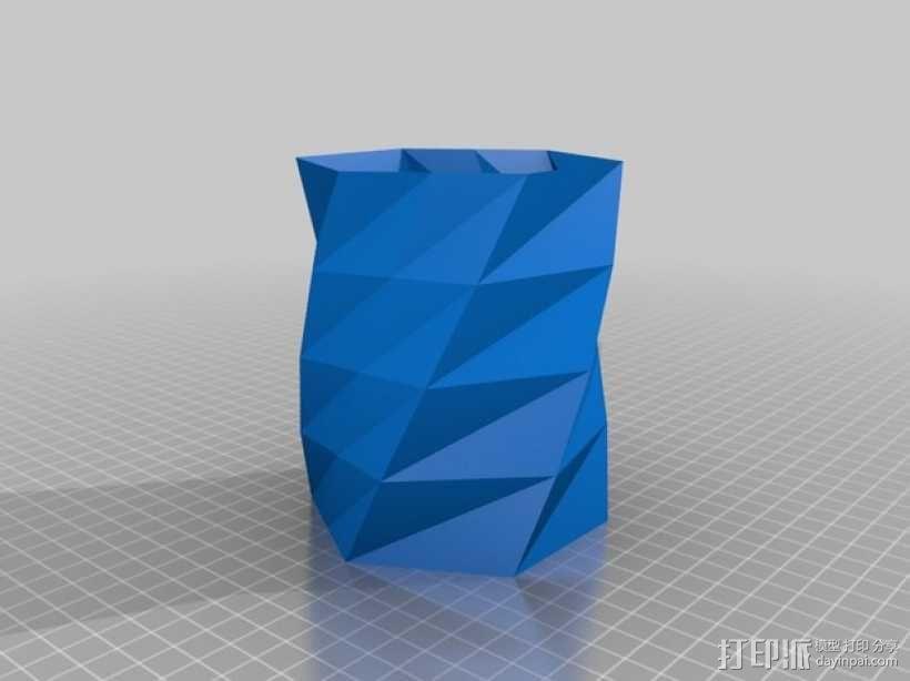 笔筒 3D模型  图2