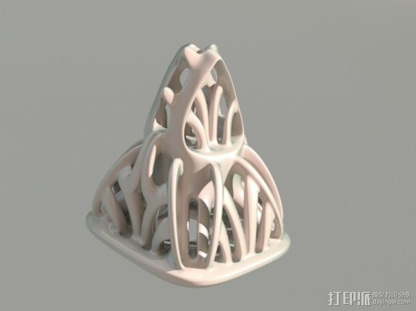 镂空手工制品 3D模型  图1
