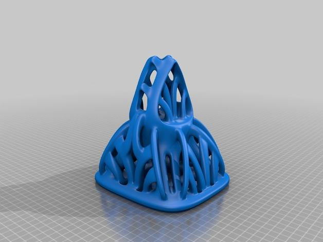 镂空手工制品 3D模型  图3