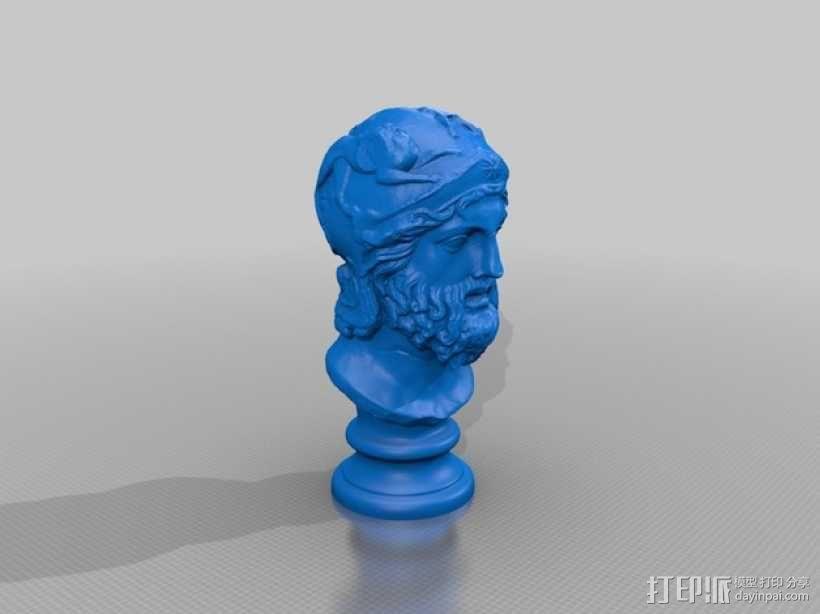 雅典英雄 3D模型  图2