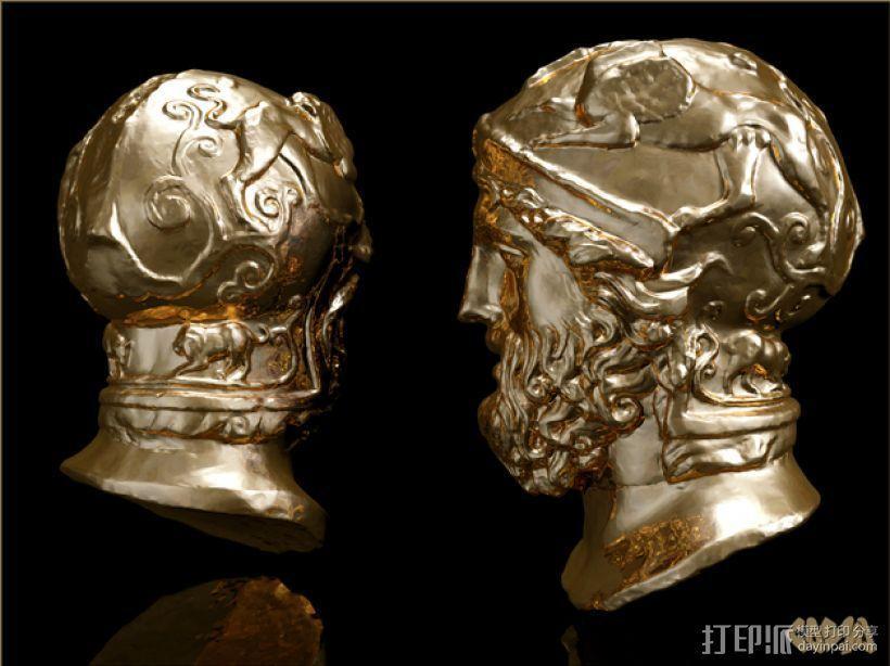 雅典英雄 3D模型  图1