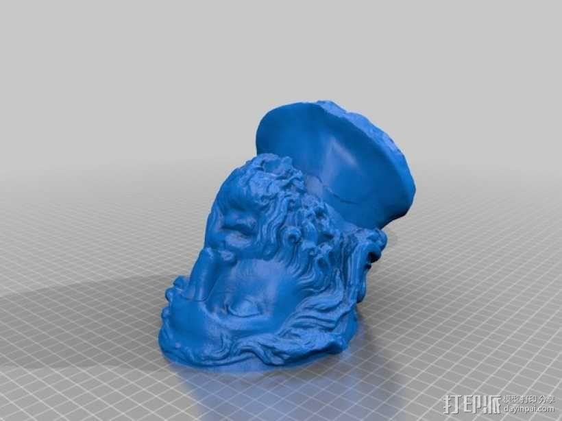 雅典英雄 3D模型  图3