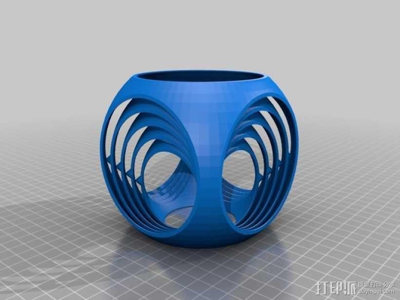 参数型陀螺立方体 3D模型  图2