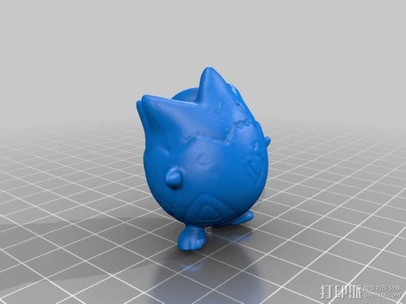 口袋妖怪:波可比 3D模型  图2