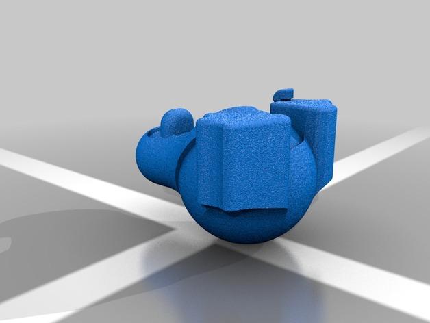 带颜色的企鹅 3D模型  图2
