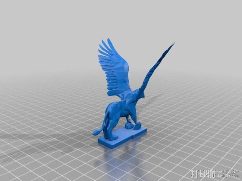 Griffin鹰头狮 模型 3D模型  图1