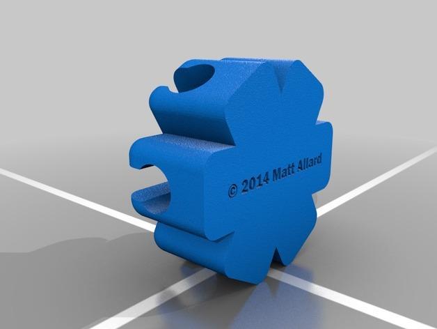 椭圆规 3D模型  图4