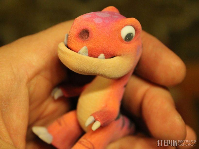 可爱的小恐龙 3D模型  图1