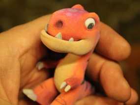 可爱的小恐龙 3D模型