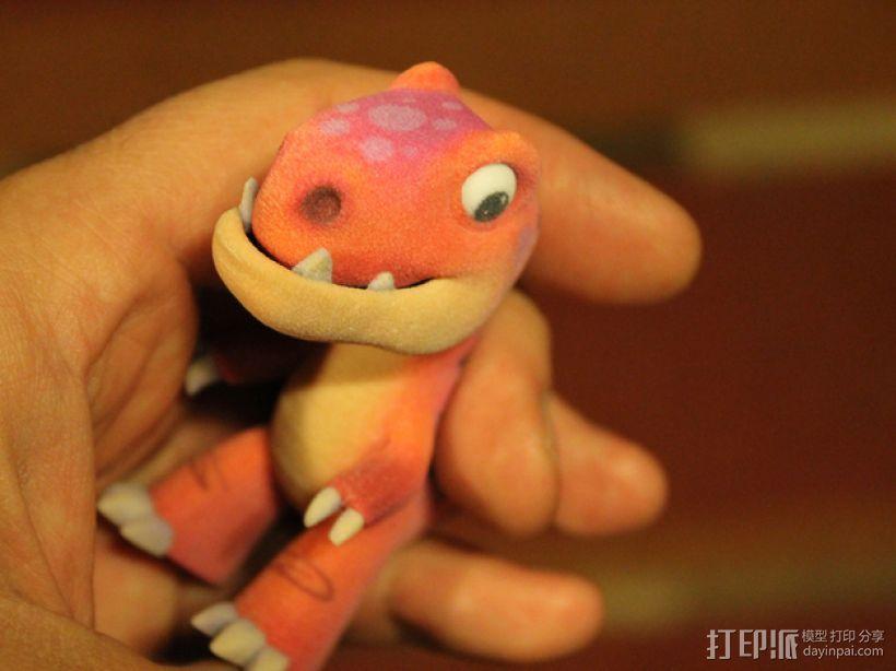 可爱的小恐龙 3D模型  图5