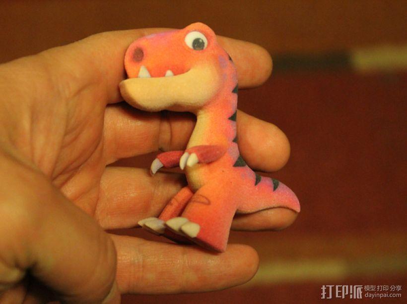 可爱的小恐龙 3D模型  图4